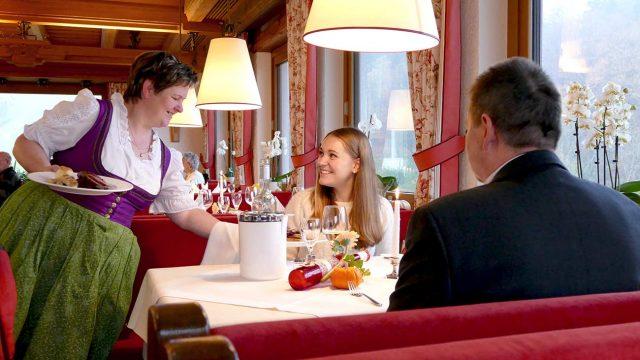 Gänseessen am Martinstag im Restaurant
