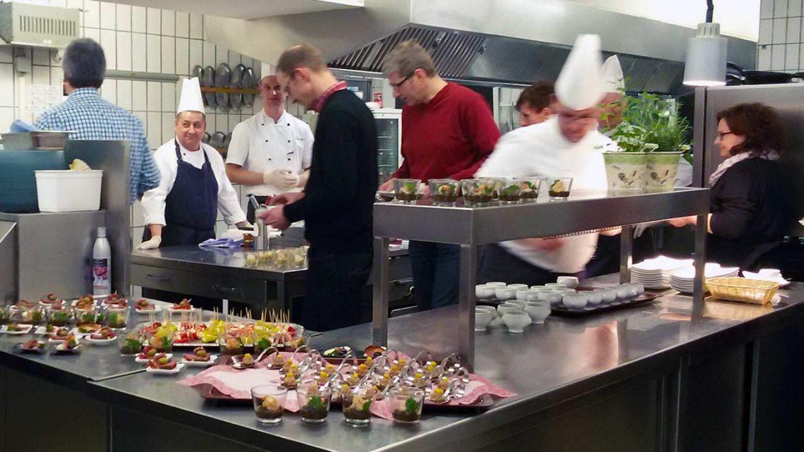 Fruehlings-Küchenparty in der Kalikutt