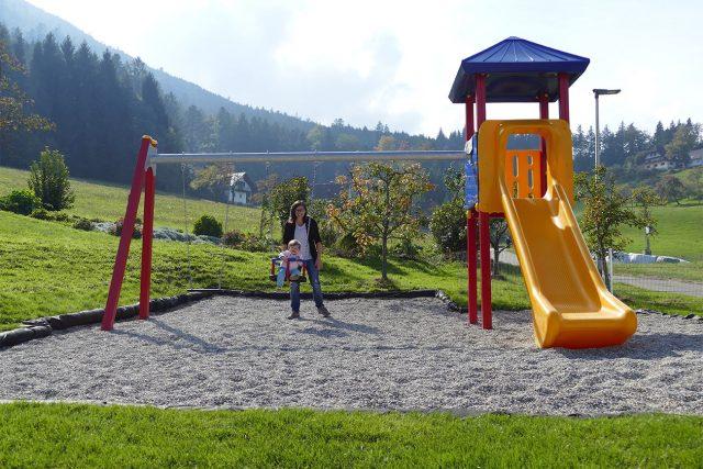 Kinderspielplatz vom Hotel Kalikutt in Oppenau
